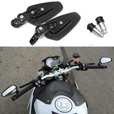 LR Motorbike Black Bar End Rear Side Mirrors For Aprilia Tuono V4R V4 1100 1000R
