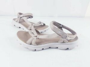 Skechers Absolutely Gorgeous Rose Gold  Goga Mat Sandals Size 8