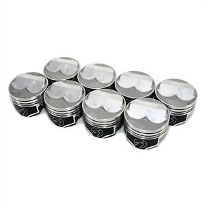 Speed Pro FMP H618CP40 Small Block Chevy 350ci .125 Domed Pistons .040 Over