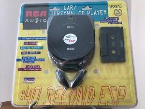 RCA Car/Personal Portable Compact Disc CD Player Model RP2245A - NOS