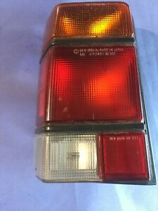 1985 To 1989 Subaru Loyale Wagon Tail Light Left Side