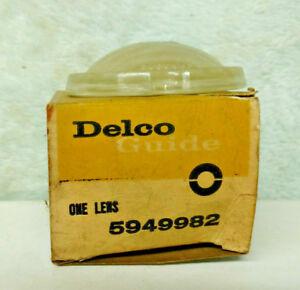 BACKUP LENS 1959 BUICK 5949982 B4-59.  Free Domestic shipping