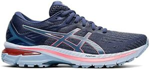 Asics Womens GT-2000 9 Running Shoes Thunder Blue/Storm Blue