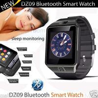 DZ09 Bluetooth Smart Watch Armbanduhr+Kamera SIM-Karte für iOS Android Telefone