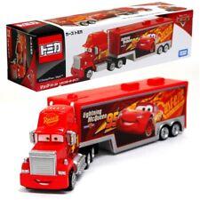 Takara Tomy Tomica Disney Lighting McQueen Cars Mack Transporter Truck