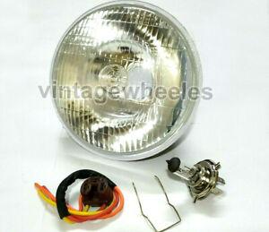 "Lucas 7"" Inch Conversion Headlamp Headlight for BSA AJS TRIUMPH MATCHLESS NORTON"