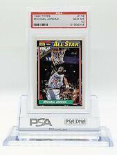 1992 Topps Michael Jordan #115 All-Star PSA 10 Bulls Hall Of Fame Gem Mint