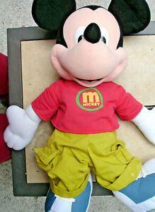 LARGE MICKEY MOUSE DOLL by FISHER-PRICE MADE IN CHINA/WEIGHS 1#/12 3/4 OZ.