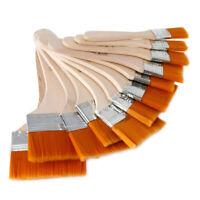 12 X Fächerpinsel Set Künstlerpinsel Pinsel für Acryl- U5U7 New. und R0E1