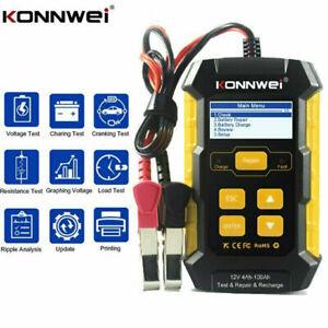 KONNWEI KW510 Full Automatic 12V Car 5A Battery Tester Pulse Car Repair Tool