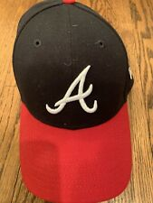 Atlanta Braves New Era 9Forty Strap Connection Back Hat, One Size Fits All