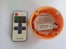 LED Trafo RUND 12V 1A 0,5 -12W Vorschaltgerät  Unterputz Trafo Inkl. Mini Dimmer