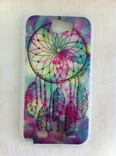 Blue Dream Catcher Printed Cover Case for Samsung Galaxy Note 2 N7100