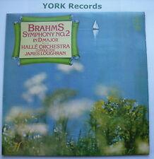 CFP 40219 - BRAHMS Symphony No 2 - LOUGHRAN Halle Orchestra - Ex Con LP Record