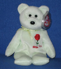 TY NEW YORK ROSE STATE FLOWER BEANIE BABY - MINT with MINT TAG