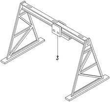 N Gauge / N Scale kit for Gantry Crane