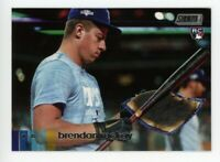 2020 Topps Stadium Club #237 BRENDAN McKAY Tampa Bay Rays PHOTO Rookie Card RC