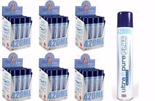 72 Cans 420 ml ULTRA PURE PLUS MASTER CASE European BUTANE - BETTER THAN 400 ml