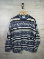 vtg Coogi Cosby Style  M & S sweatshirt sweater jumper refA21 Large