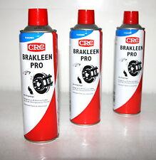 3x CRC BRÄKLEEN  Bremsenreiniger 500ml Spraydose Teilereiniger