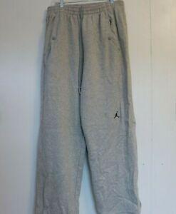 Vintage Jordan Sweat Pants Mens Size XL Gray Activewear