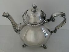 Vintage Joanne Webster-Wilcox Silverplate International Silver Teapot