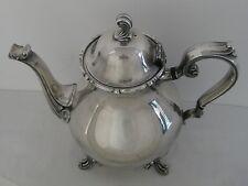 Vintage Joanne Webster-Wilcox Silverplate International Silver Teapot