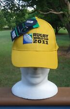 Official Licensed IRB Rugby World Cup 2011 Australian Wallabies Cap *Green &Gold