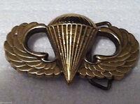 Airborne Belt Buckle (Solid Brass)