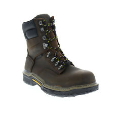 Wolverine Bandit Hi CarbonMax W10844 Mens Brown Leather Work Boots 8