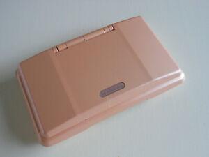 PINK Nintendo DS CONSOLE . BROKEN HINGE . READ DESCRIPTION . FAULTY