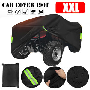 XXL ATV Cover Waterproof Sun UV Snow Rain Dust Resistant All Weather Protection
