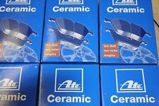 ATE Ceramic-Bremsbeläge Citroen und Peugeot Satz für vorne und  hinten 266x22mm