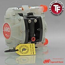 1 4 Aro Ingersoll Rand Air Diaphragm Pump Poly Ptfe