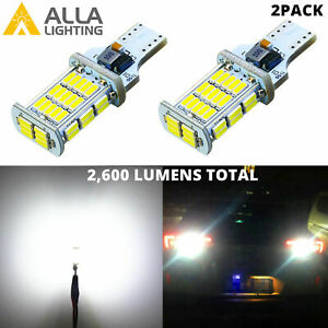 Alla LED 921 Back Up Light Bulb|Brake Light Bulb|LED Center High Stop Light Bulb