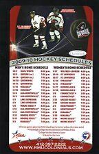 Robert Morris Colonials--2009-10 Hockey Magnet Schedule