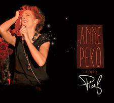 ANNE PEKO - CHANTE PIAF (CD DIGIPACK NEUF)