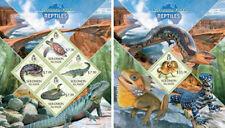 Reptiles Lizards Turtles Snakes Animals Fauna Solomon Islands MNH stamp set