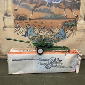 VINTAG USSR Military Russian Soviet Toy Cannon Tool BS - 3 RED STAR M1:43