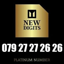 UNIQUE EXCLUSIVE GOLD PRIVATE UK BUSINESS MOBILE PHONE NUMBER SIM CARD