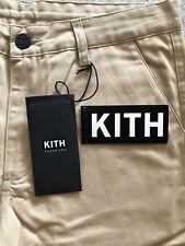 kith Mercer Hybrid Pant Brand New Size 29 Khaki/Oat 100% Authentic