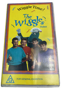 The Wiggles - Wiggle Time VHS VIDEO PAL