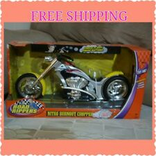 New Road Rippers Motorcycle Toy Nitro Burnout Chopper Silver Boy