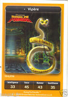 Cartolina Carrefour Dreamworks N°104/216 - Viper - Kung Fu Panda