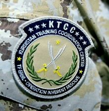 SYRIA IRAQ US SFG URBAN WARFARE KURDISTAN TRAINING CENTER velkrö INSIGNIA: KTCC