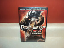 FRIDAY THE 13TH VII THE NEW BLOOD PART 7 DELUXE EDITION SEALED HORROR MOVIE
