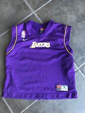 NBA Los Angeles Lakers Purple Jersey Toddler Sz 7