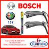 KIT ESCOBILLAS LIMPIAPARABRISAS BOSCH Alfa Romeo 159 de 2005 3397007084 SX + DX