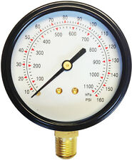 Tyre Pressure Gauge Head For Tyre Changer 0-160PSI Industrial Quality/Accuracy