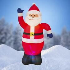 NEW,6 FT Airblown Inflatable Santa Claus Christmas Decoration with Inside Lights